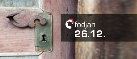 26.12. fodjan Adventskalender