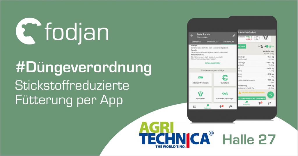 fodjan auf der Agritechnica 2017